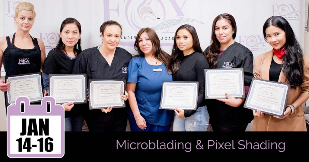 Microblading Training near Long Beach, CA